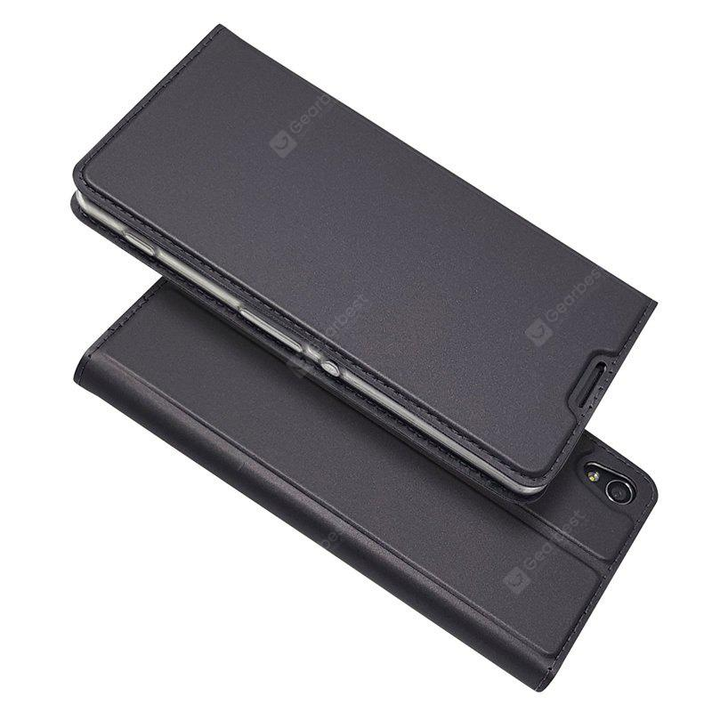 Ultra thin Flip Magnetic PU Leather Phone Cover for Sony Xperia XA