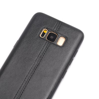 Plain Midline Back Cover Mobile Phone Shell Case for Samsung Galaxy S8 / S8 PlusSamsung S Series<br>Plain Midline Back Cover Mobile Phone Shell Case for Samsung Galaxy S8 / S8 Plus<br><br>Features: Back Cover, Bumper Frame, Anti-knock, Dirt-resistant<br>Material: PU Leather<br>Package Contents: 1 x Phone Case<br>Package size (L x W x H): 20.00 x 10.50 x 1.50 cm / 7.87 x 4.13 x 0.59 inches<br>Package weight: 0.0400 kg<br>Style: Leather, Vintage