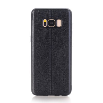 Plain Midline Back Cover Mobile Phone Shell Case for Samsung Galaxy S8 / S8 Plus