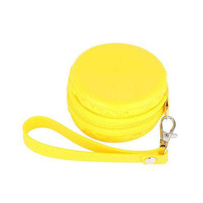 Buy YELLOW Luxury Hold Case Storage Carrying Hard Bag Box for Earphone Headphone Earbuds Memory Card for $1.34 in GearBest store