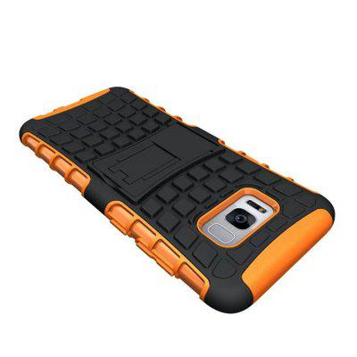 Armor Heavy-duty Hybrid TPU Silicone Stand Holder Case Cover for Samsung Galaxy S8 PlusSamsung S Series<br>Armor Heavy-duty Hybrid TPU Silicone Stand Holder Case Cover for Samsung Galaxy S8 Plus<br><br>Compatible with: Samsung Galaxy S8 Plus<br>Features: Back Cover, Cases with Stand, Button Protector, Anti-knock, Dirt-resistant<br>For: Samsung Mobile Phone<br>Material: PC, Silicone<br>Package Contents: 1 x Phone Case<br>Package size (L x W x H): 18.00 x 8.00 x 2.00 cm / 7.09 x 3.15 x 0.79 inches<br>Package weight: 0.0450 kg<br>Product weight: 0.0400 kg<br>Style: Mixed Color