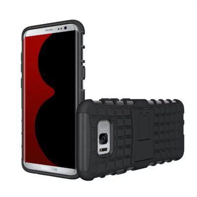 Armor Heavy-duty Hybrid TPU Silicone Stand Holder Case Cover for Samsung Galaxy S8Samsung S Series<br>Armor Heavy-duty Hybrid TPU Silicone Stand Holder Case Cover for Samsung Galaxy S8<br><br>Compatible with: Samsung Galaxy S8<br>Features: Back Cover, Cases with Stand, Button Protector, Anti-knock, Dirt-resistant<br>For: Samsung Mobile Phone<br>Material: PC, Silicone<br>Package Contents: 1 x Phone Case<br>Package size (L x W x H): 17.00 x 7.00 x 2.00 cm / 6.69 x 2.76 x 0.79 inches<br>Package weight: 0.0400 kg<br>Product weight: 0.0350 kg<br>Style: Mixed Color