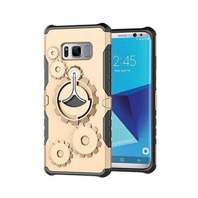 Mechanical Gears Ring Scratch Slim Thin Protection Cover Armband for Samsung Galaxy S8 Plus