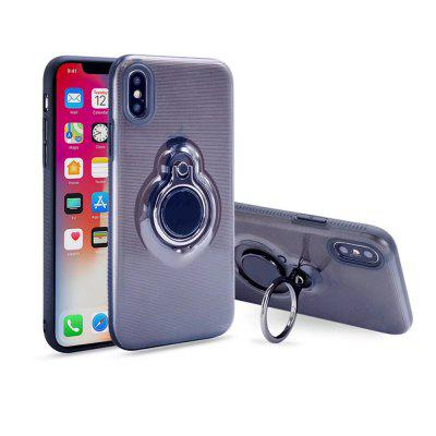 Kickstand with Ring Holder Durable Shockproof Hard PC and TPU  Case for iPhone X