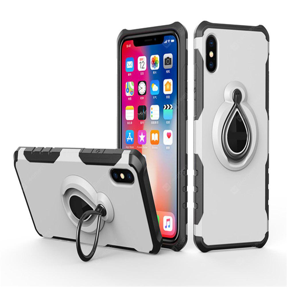 Mobile Cell Phone Stand Holder Car Mount Ring Grip 360 Rotatable Zinc Alloy Finger Holder for iPhone X Case