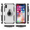 Mobile Cell Phone Stand Holder Car Mount Ring Grip 360 Rotatable Zinc Alloy Finger Holder for iPhone X Case - WHITE
