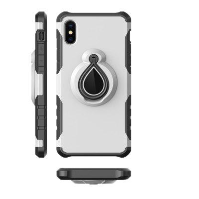 Finger Ring 360 Degree Stent Armor PC + TPU Protective Case Cover for iPhone XiPhone Cases/Covers<br>Finger Ring 360 Degree Stent Armor PC + TPU Protective Case Cover for iPhone X<br><br>Compatible for Apple: iPhone X<br>Features: Back Cover, Cases with Stand, Button Protector, Anti-knock<br>Material: PC<br>Package Contents: 1 x Phone Case<br>Package size (L x W x H): 20.00 x 10.00 x 2.00 cm / 7.87 x 3.94 x 0.79 inches<br>Package weight: 0.0550 kg<br>Product weight: 0.0500 kg<br>Style: Solid Color