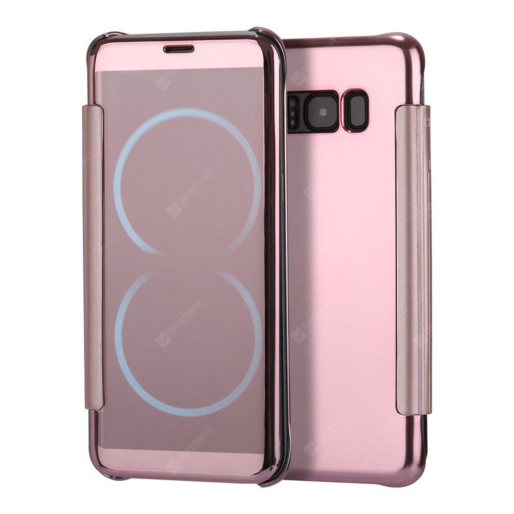 Mirror Plating Flip Ultra Thin Cover for Samsung Galaxy S8 Plus Case