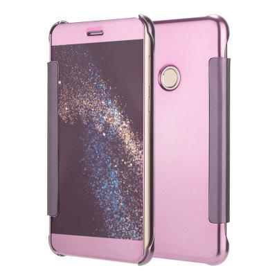 Mirror Plating Flip Ultra Thin Cover for Huawei P8 Lite 2017 / P9 Lite 2017 Case
