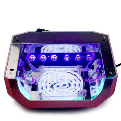 36W UV Lamp LED Ultraviolet Lamp Nail Dryer Diamond Shaped CCFL Curing for UV Gel Polish ToolUV Lamp<br>36W UV Lamp LED Ultraviolet Lamp Nail Dryer Diamond Shaped CCFL Curing for UV Gel Polish Tool<br><br>Color: Red<br>Functions: Cleaning<br>Massage Type: Others<br>Material: Plastic<br>Package Contents: 1 x LED / CCFL Nail Dryer, 1 x AC / DC Adapter<br>Package size (L x W x H): 20.00 x 15.00 x 10.00 cm / 7.87 x 5.91 x 3.94 inches<br>Package weight: 0.9000 kg<br>Product size (L x W x H): 17.00 x 13.00 x 8.00 cm / 6.69 x 5.12 x 3.15 inches<br>Product weight: 0.8000 kg<br>Size: Free Size<br>Style: Others<br>Type: Others