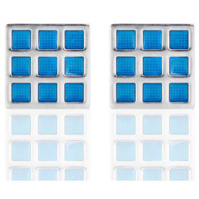 Hot Sale Fashion Cufflinks Wedding Cube Lattice Pattern CuffsTies &amp; Cufflinks<br>Hot Sale Fashion Cufflinks Wedding Cube Lattice Pattern Cuffs<br><br>Gender: For Men<br>Metal Type: Copper<br>Package Contents: 1 x Pair of Cufflinks<br>Package size (L x W x H): 3.00 x 3.00 x 2.00 cm / 1.18 x 1.18 x 0.79 inches<br>Package weight: 0.0250 kg<br>Pattern Type: Geometric<br>Product weight: 0.0200 kg<br>Style: Romantic<br>Type: Cuff Links