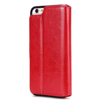 Two In One Split Stone Pattern PU Leather Case for iPhone 6 Plus / 6S PlusiPhone Cases/Covers<br>Two In One Split Stone Pattern PU Leather Case for iPhone 6 Plus / 6S Plus<br><br>Compatible for Apple: iPhone 6 Plus, iPhone 6S Plus<br>Features: Cases with Stand, With Credit Card Holder, Anti-knock, Dirt-resistant, FullBody Cases<br>Material: TPU, PU Leather<br>Package Contents: 1 x Phone Case<br>Package size (L x W x H): 20.00 x 10.00 x 3.00 cm / 7.87 x 3.94 x 1.18 inches<br>Package weight: 0.1530 kg<br>Product weight: 0.1530 kg<br>Style: Vintage, Leather, Solid Color