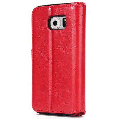 Two In One Split Stone Pattern PU Leather Case for Samsung Galaxy S6 EdgeSamsung S Series<br>Two In One Split Stone Pattern PU Leather Case for Samsung Galaxy S6 Edge<br><br>Compatible for Samsung: Galaxy S6 Edge<br>Features: Full Body Cases, Cases with Stand, With Credit Card Holder, Anti-knock, Dirt-resistant<br>For: Samsung Mobile Phone<br>Material: TPU, PU Leather<br>Package Contents: 1 x Phone Case<br>Package size (L x W x H): 20.00 x 15.00 x 3.00 cm / 7.87 x 5.91 x 1.18 inches<br>Package weight: 0.1190 kg<br>Product weight: 0.1190 kg<br>Style: Vintage, Leather, Solid Color