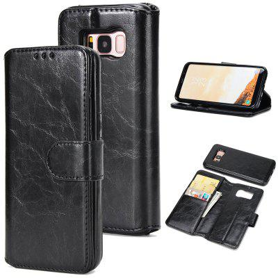 Two In One Split Stone Pattern PU Leather Case for Samsung Galaxy S8