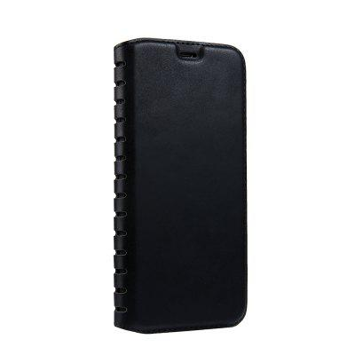 Ladder Series PU Leather Wallet Case para iPhone X