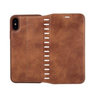 Ladder Series PU Leather Wallet Case for iPhone XiPhone Cases/Covers<br>Ladder Series PU Leather Wallet Case for iPhone X<br><br>Features: With Credit Card Holder<br>Material: PU Leather<br>Package Contents: 1 x Phone Case<br>Package size (L x W x H): 20.00 x 20.00 x 5.00 cm / 7.87 x 7.87 x 1.97 inches<br>Package weight: 0.0500 kg<br>Product weight: 0.0300 kg<br>Style: Vintage, Solid Color