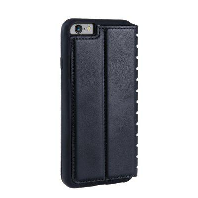 Ladder Series PU Leather Wallet Case for iPhone 6 PlusiPhone Cases/Covers<br>Ladder Series PU Leather Wallet Case for iPhone 6 Plus<br><br>Features: With Credit Card Holder<br>Material: PU Leather<br>Package Contents: 1 x Phone Case<br>Package size (L x W x H): 20.00 x 20.00 x 5.00 cm / 7.87 x 7.87 x 1.97 inches<br>Package weight: 0.0500 kg<br>Product weight: 0.0300 kg<br>Style: Vintage, Solid Color