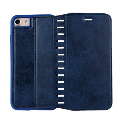 Ladder Series PU Leather Wallet Case for iPhone 7iPhone Cases/Covers<br>Ladder Series PU Leather Wallet Case for iPhone 7<br><br>Features: With Credit Card Holder<br>Material: PU Leather<br>Package Contents: 1 x Phone Case<br>Package size (L x W x H): 20.00 x 20.00 x 5.00 cm / 7.87 x 7.87 x 1.97 inches<br>Package weight: 0.0500 kg<br>Product weight: 0.0300 kg<br>Style: Vintage, Solid Color
