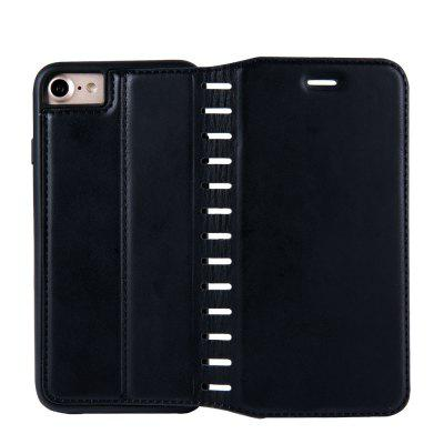 Ladder Series PU Leather Wallet Case for iPhone 8iPhone Cases/Covers<br>Ladder Series PU Leather Wallet Case for iPhone 8<br><br>Features: With Credit Card Holder<br>Material: PU Leather<br>Package Contents: 1 x Phone Case<br>Package size (L x W x H): 20.00 x 20.00 x 5.00 cm / 7.87 x 7.87 x 1.97 inches<br>Package weight: 0.0500 kg<br>Product weight: 0.0300 kg<br>Style: Vintage, Solid Color