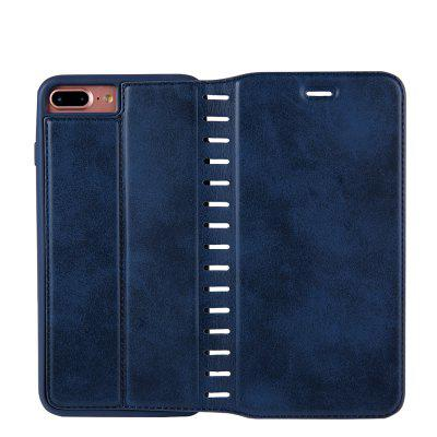 Ladder Series PU Leather Wallet Case for iPhone 8 PlusiPhone Cases/Covers<br>Ladder Series PU Leather Wallet Case for iPhone 8 Plus<br><br>Features: With Credit Card Holder<br>Material: PU Leather<br>Package Contents: 1 x Phone Case<br>Package size (L x W x H): 20.00 x 20.00 x 5.00 cm / 7.87 x 7.87 x 1.97 inches<br>Package weight: 0.0500 kg<br>Product weight: 0.0300 kg<br>Style: Vintage, Solid Color