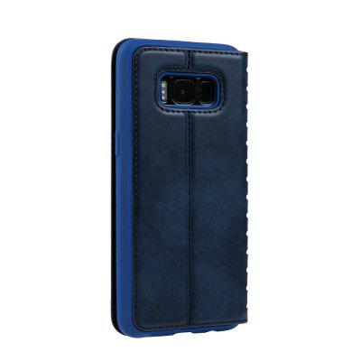 Ladder Series PU Leather Wallet Case for Samsung Galaxy S8 PlusSamsung S Series<br>Ladder Series PU Leather Wallet Case for Samsung Galaxy S8 Plus<br><br>Features: With Credit Card Holder<br>Material: PU Leather<br>Package Contents: 1 x Phone Case<br>Package size (L x W x H): 20.00 x 20.00 x 5.00 cm / 7.87 x 7.87 x 1.97 inches<br>Package weight: 0.0500 kg<br>Product weight: 0.0300 kg<br>Style: Vintage, Solid Color