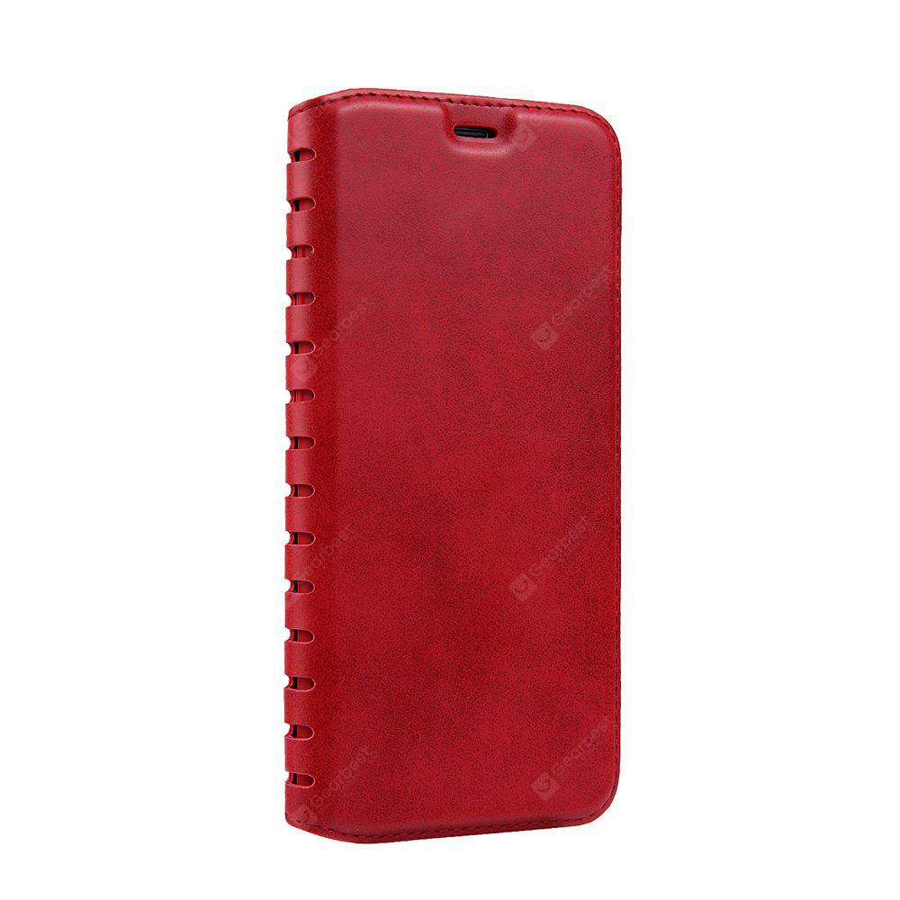 Ladder Series PU Leather Wallet Case for Samsung Galaxy S7 Edge