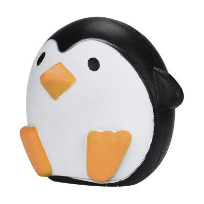 Cute Penguins Squishy Slow Rising Cream Scented Decompression Toy acevivi professional hair curler conical curling iron single tube ceramic glaze cone automatic electric magic hair styling tool