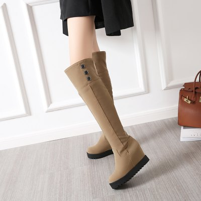 Фото New Fashion Increased Over The Knee Boots. Купить в РФ