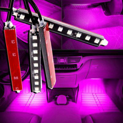 36 LED Car Atmosphere Light with Cigarette Lighter Plug Auto Car Interior Floor Decorative Lamp