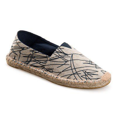 Flax Sneaker of The Fisherman'S Linen Slanting Men and Women Shoes