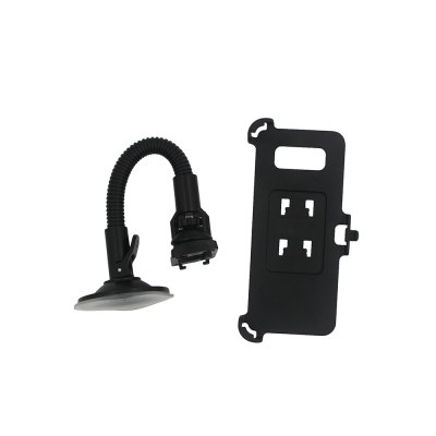 Suction Cup Flexible Neck Car Mount Holder for Samsung Galaxy S8Samsung S Series<br>Suction Cup Flexible Neck Car Mount Holder for Samsung Galaxy S8<br><br>Color: Black<br>Material: ABS<br>Package Contents: 1 x Car Mount Holder<br>Package size (L x W x H): 16.00 x 9.00 x 8.00 cm / 6.3 x 3.54 x 3.15 inches<br>Package weight: 0.1100 kg<br>Product size (L x W x H): 15.00 x 6.00 x 15.30 cm / 5.91 x 2.36 x 6.02 inches<br>Product weight: 0.0880 kg<br>Type: Car Stand
