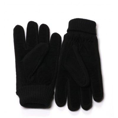 Mens Black Winter Gloves with Knit CuffGloves<br>Mens Black Winter Gloves with Knit Cuff<br><br>Gender: For Men<br>Glove Length: Wrist<br>Group: Adult<br>Material: Spandex, Polyester<br>Package Contents: 1 x Pair of Gloves<br>Package size (L x W x H): 20.00 x 13.00 x 3.00 cm / 7.87 x 5.12 x 1.18 inches<br>Package weight: 0.2000 kg<br>Pattern Type: Solid<br>Style: Fashion