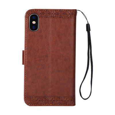 Totem Design Embossed Wallet Flip PU Leather Card Holder Standing Phone Case for iPhone XiPhone Cases/Covers<br>Totem Design Embossed Wallet Flip PU Leather Card Holder Standing Phone Case for iPhone X<br><br>Compatible for Apple: iPhone X<br>Features: FullBody Cases, Wallet Case, With Credit Card Holder, With Lanyard<br>Material: TPU, PU Leather<br>Package Contents: 1 x Phone Case<br>Package size (L x W x H): 15.00 x 8.00 x 1.00 cm / 5.91 x 3.15 x 0.39 inches<br>Package weight: 0.0600 kg<br>Style: Pattern, Retro