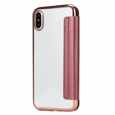 PU Leather Folio Flip Case with Card Slot Clear Soft TPU Back Cover for iPhone XiPhone Cases/Covers<br>PU Leather Folio Flip Case with Card Slot Clear Soft TPU Back Cover for iPhone X<br><br>Color: Pink,Black,Red,Blue,Gold,Gray<br>Compatible for Apple: iPhone X<br>Features: Back Cover, Cases with Stand, Anti-knock, Dirt-resistant, Wallet Case<br>Material: TPU, PU<br>Package Contents: 1 x Case<br>Package size (L x W x H): 17.00 x 8.00 x 1.80 cm / 6.69 x 3.15 x 0.71 inches<br>Package weight: 0.0310 kg<br>Product weight: 0.0300 kg<br>Style: Novelty, Leather