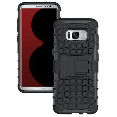 Mobile Phone Shell Holder Clip Slip Drop Resistance Seismic Phone Case for Samsung Galaxy S8