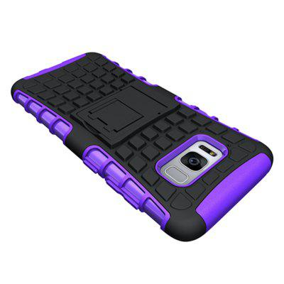 Mobile Phone Shell Holder Clip Slip Drop Resistance Seismic Phone Case for Samsung Galaxy S8Samsung S Series<br>Mobile Phone Shell Holder Clip Slip Drop Resistance Seismic Phone Case for Samsung Galaxy S8<br><br>Color: Black,White,Red,Green,Purple,Orange,Dark blue,Rose Madder<br>Compatible with: Samsung Galaxy S8<br>Features: Cases with Stand, Anti-knock, Dirt-resistant<br>For: Samsung Mobile Phone<br>Material: TPU, PC<br>Package Contents: 1 x Case<br>Package size (L x W x H): 17.00 x 8.00 x 1.80 cm / 6.69 x 3.15 x 0.71 inches<br>Package weight: 0.0250 kg<br>Product weight: 0.0220 kg<br>Style: Fashion, Novelty