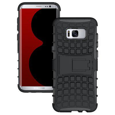 Mobile Phone Shell Holder Clip Slip Drop Resistance Seismic Phone Case for Samsung Galaxy S8 Plus