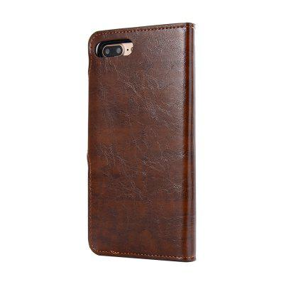 Premium PU Leather Wallet Case Cover 2 in 1 Removable Shell Magnetic Flip Cover for iPhone 7 Plus / 8 PlusiPhone Cases/Covers<br>Premium PU Leather Wallet Case Cover 2 in 1 Removable Shell Magnetic Flip Cover for iPhone 7 Plus / 8 Plus<br><br>Color: Black,Red,Brown,Dark blue<br>Compatible for Apple: iPhone 7 Plus, iPhone 8 Plus<br>Features: Cases with Stand, With Credit Card Holder, Anti-knock, Dirt-resistant<br>Material: TPU, PU<br>Package Contents: 1 x Case<br>Package size (L x W x H): 17.00 x 8.00 x 1.80 cm / 6.69 x 3.15 x 0.71 inches<br>Package weight: 0.0900 kg<br>Product weight: 0.0850 kg<br>Style: Vintage, Solid Color