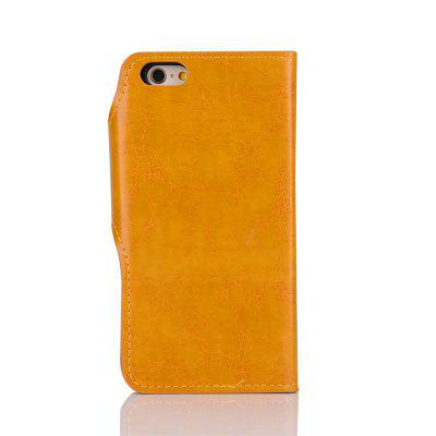 2 in 1 Removable Shell Magnetic Flip  Cover PU Leather Wallet Case for iPhone 6  /  6SiPhone Cases/Covers<br>2 in 1 Removable Shell Magnetic Flip  Cover PU Leather Wallet Case for iPhone 6  /  6S<br><br>Color: Red,Brown,Yellow,Wine red<br>Compatible for Apple: iPhone 6, iPhone 6S<br>Features: Cases with Stand, With Credit Card Holder, Anti-knock, Dirt-resistant<br>Material: TPU, PU<br>Package Contents: 1 x Case<br>Package size (L x W x H): 17.00 x 8.00 x 1.80 cm / 6.69 x 3.15 x 0.71 inches<br>Package weight: 0.0900 kg<br>Product weight: 0.0850 kg<br>Style: Leather, Solid Color