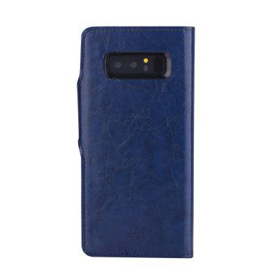 PU Leather Wallet Case 2 in 1 Removable Shell Magnetic Flip Cover for Samsung Galaxy Note 8Samsung Note Series<br>PU Leather Wallet Case 2 in 1 Removable Shell Magnetic Flip Cover for Samsung Galaxy Note 8<br><br>Color: Red,Blue,Brown,Gray<br>Compatible for Samsung: Samsung Galaxy Note 8<br>Features: Cases with Stand, With Credit Card Holder, Anti-knock, Dirt-resistant<br>For: Samsung Mobile Phone<br>Material: TPU, PU Leather<br>Package Contents: 1 x Case<br>Package size (L x W x H): 17.00 x 8.00 x 1.80 cm / 6.69 x 3.15 x 0.71 inches<br>Package weight: 0.0900 kg<br>Product weight: 0.0850 kg<br>Style: Leather, Solid Color