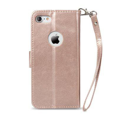 Premium PU Leather Wallet Case Stand Cover for iPhone 7/8 Rose Gold mercury goospery for iphone 7 mansoor diary leather wallet cover dark blue