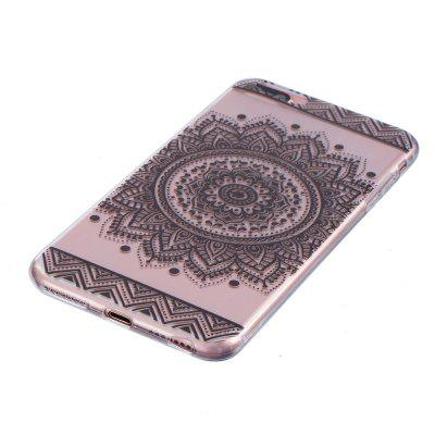 Mandala Pattern TPU Silicone Gel Soft Clear Case Cover for iphone 7/8 plus for iphone 7 plus 5 5 inch glossy tpu cellphone case with cartoon pattern bunny