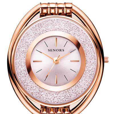 Senors SN072 Simple Fashion Quartz Waterproof Ultra Thin Ladies WatchWomens Watches<br>Senors SN072 Simple Fashion Quartz Waterproof Ultra Thin Ladies Watch<br><br>Band material: Genuine Leather<br>Band size: 17.2 x 0.6cm<br>Brand: SENORS<br>Case material: Zinc Alloy<br>Dial size: 3.6 x 3.6 x 0.8cm<br>Display type: Analog<br>Movement type: Quartz watch<br>Package Contents: 1 x Watch, 1 x Box<br>Package size (L x W x H): 11.00 x 6.20 x 8.20 cm / 4.33 x 2.44 x 3.23 inches<br>Package weight: 0.1600 kg<br>Product size (L x W x H): 17.20 x 3.60 x 0.80 cm / 6.77 x 1.42 x 0.31 inches<br>Product weight: 0.0520 kg<br>Shape of the dial: Round<br>Special features: Light<br>Watch mirror: Mineral glass<br>Watch style: Classic, Casual, Fashion, Outdoor Sports<br>Watches categories: Female table<br>Water resistance: 30 meters
