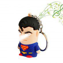 Brelong Noise-making Cartoon Keychain with LED Light Pendant 1PCS