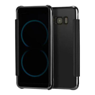 Phone Protection Shell Mirror with Support for Samsung Galaxy S8 Plus Case
