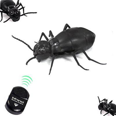 Infrared Remote Control Realistic Fake Cockroach RC Prank Toys Insects Joke Scary Trick  infrared remote control tarantula with light trick toy