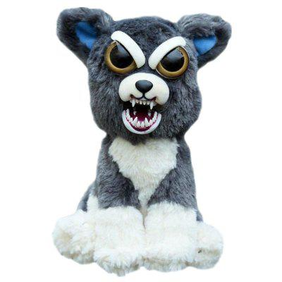 Snarl Adorable Plush Stuffed Polar Dog Toy