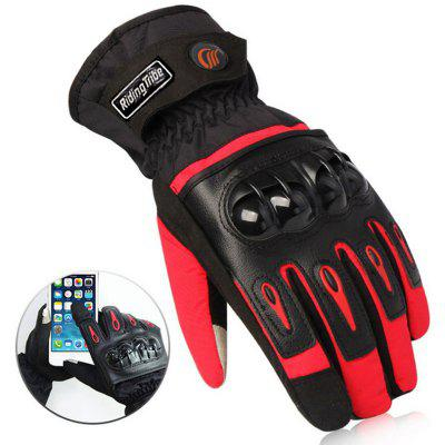 Riding Tribe Motocross Touch Screen Waterproof Warm Gloves MTV - 08