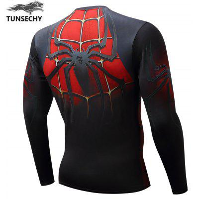3D Digital T-shirt MenswearMens T-shirts<br>3D Digital T-shirt Menswear<br><br>Collar: Round Neck<br>Embellishment: Pattern<br>Material: Polyester, Spandex<br>Package Contents: 1xT-shirt<br>Pattern Type: Print<br>Sleeve Length: Full<br>Style: Casual<br>Weight: 0.2000kg