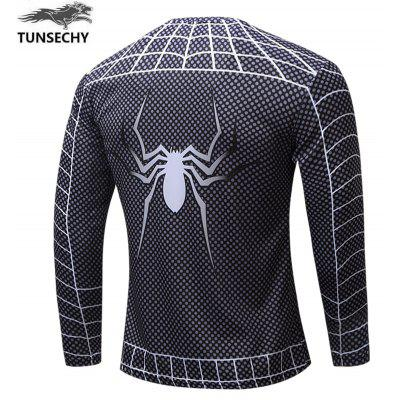 Superhero 3D Digital T-shirtMens T-shirts<br>Superhero 3D Digital T-shirt<br><br>Collar: Round Neck<br>Embellishment: Pattern<br>Material: Polyester, Spandex<br>Package Contents: 1x T-shirt<br>Pattern Type: Print<br>Sleeve Length: Full<br>Style: Fashion<br>Weight: 0.2000kg